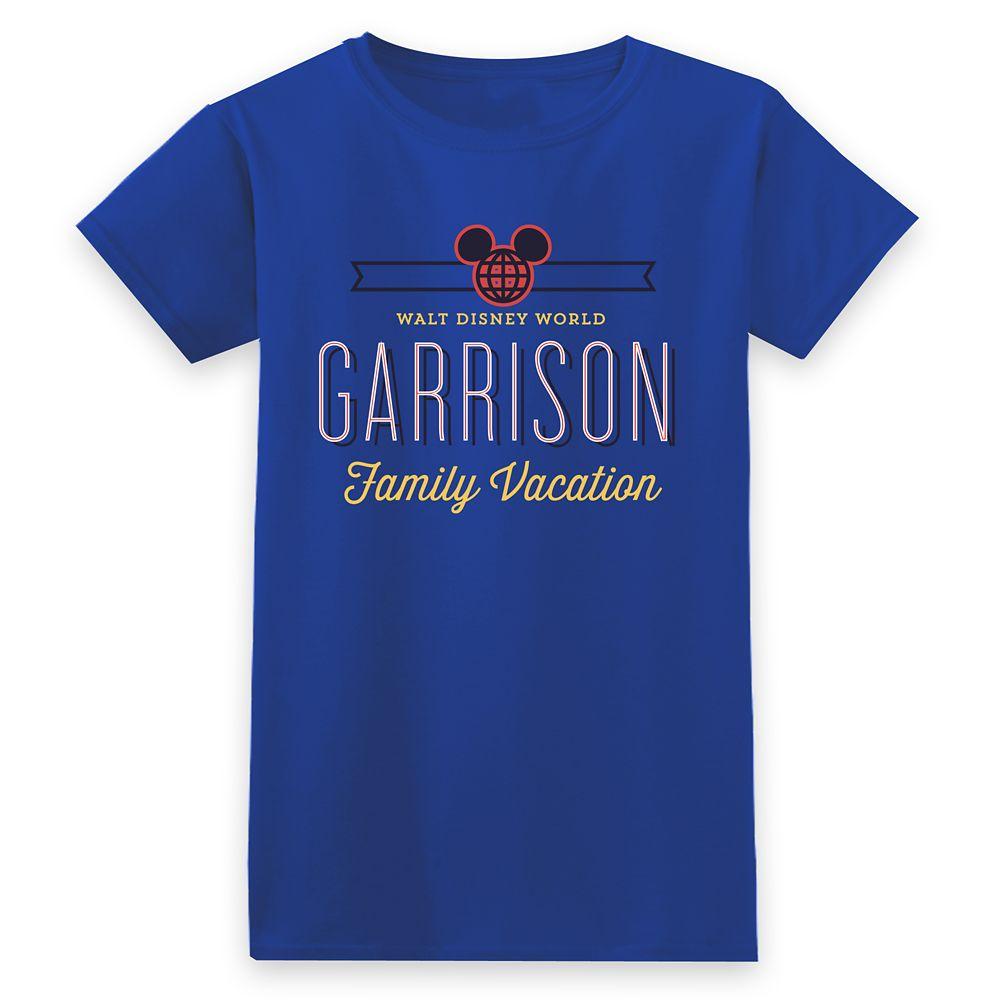 Women's Walt Disney World Family Vacation T-Shirt - Customized