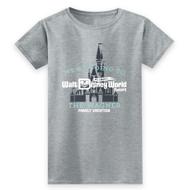 Women's Walt Disney World Resort Family Vacation T-Shirt – Customized