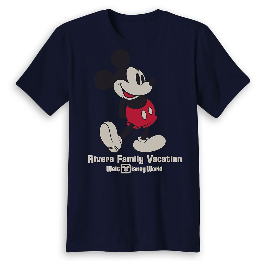 Adults' Walt Disney World Mickey Mouse Family Vacation T-Shirt – Customized