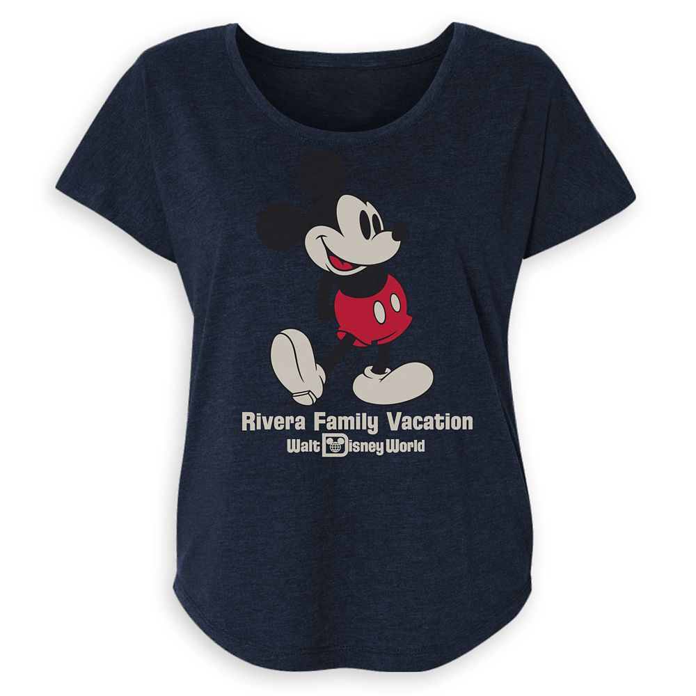 Women's Walt Disney World Mickey Mouse Family Vacation T-Shirt – Customized