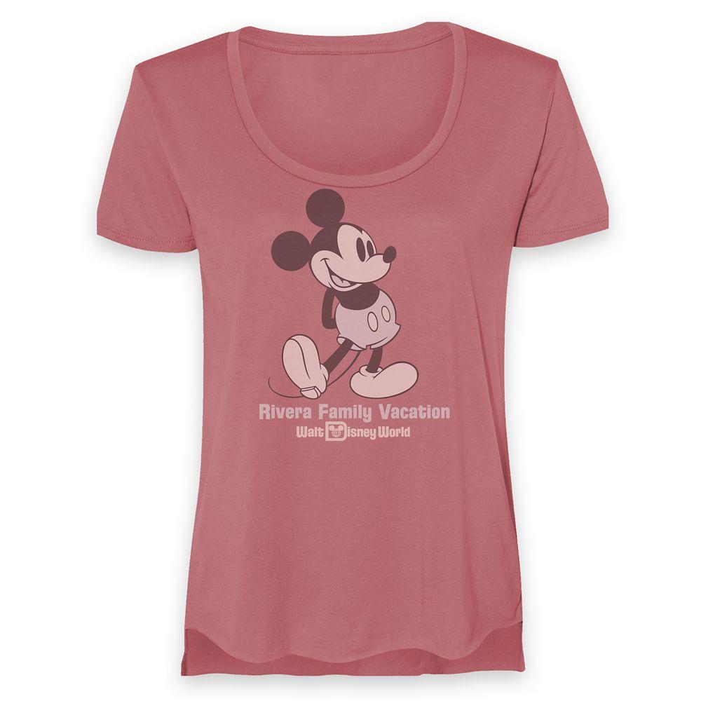 Women's Walt Disney World Mickey Mouse Family Vacation Heathered T-Shirt – Customized