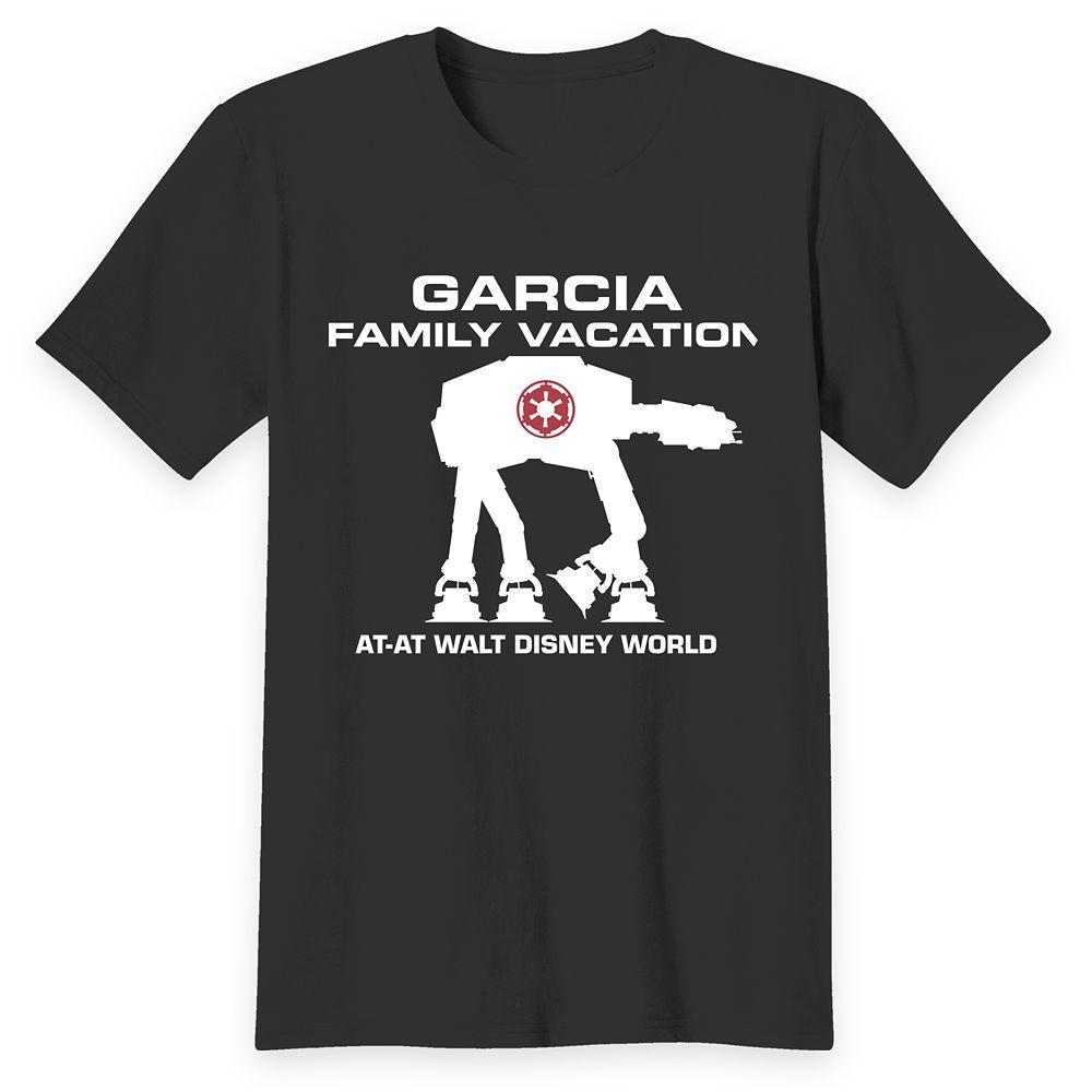 Adults' Walt Disney World Star Wars AT-AT T-Shirt – Customized