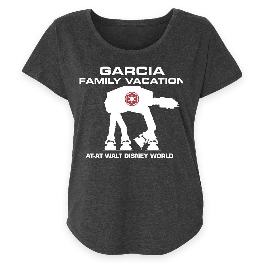 Women's Walt Disney World Star Wars AT-AT T-Shirt – Customized