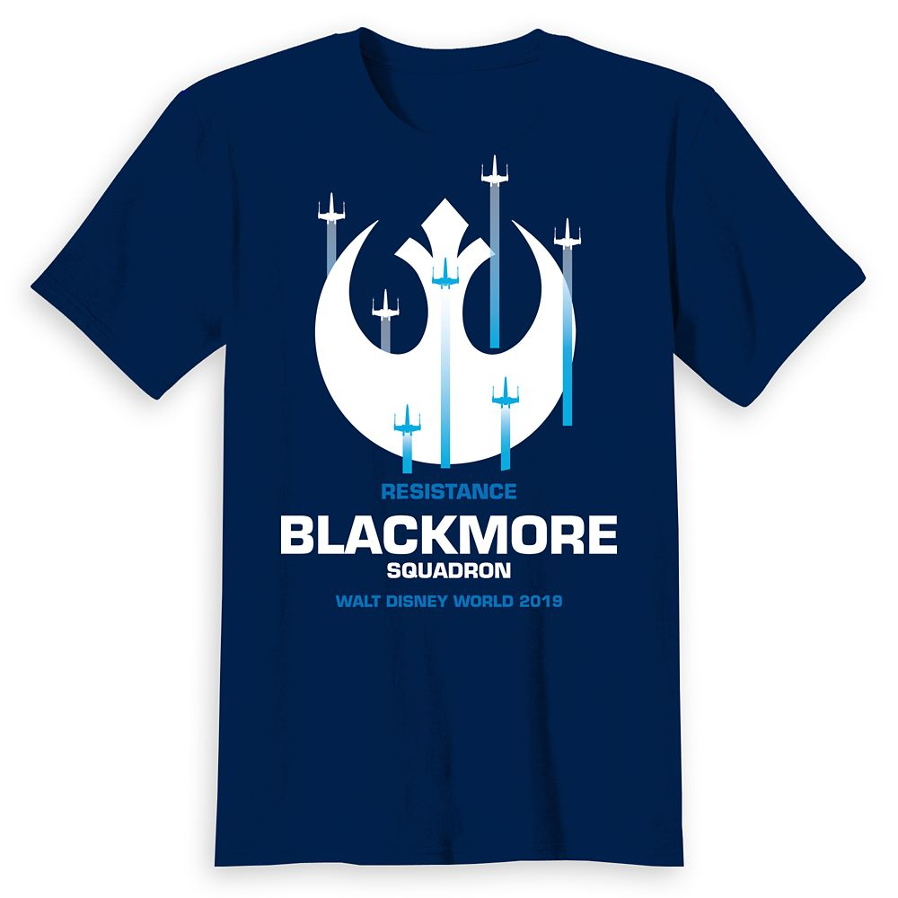 Adults' Walt Disney World Star Wars Resistance Squadron T-Shirt – Customized