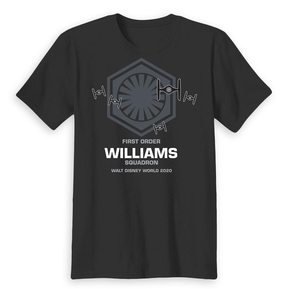 Adults' Walt Disney World 2020 Star Wars First Order Squadron T-Shirt – Customized