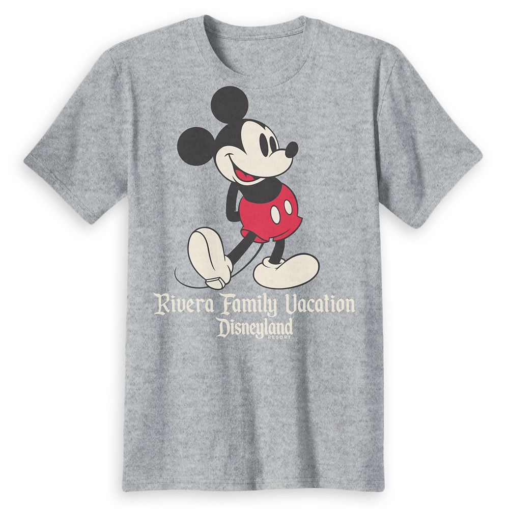 Adults' Disneyland Mickey Mouse Family Vacation T-Shirt – Customized