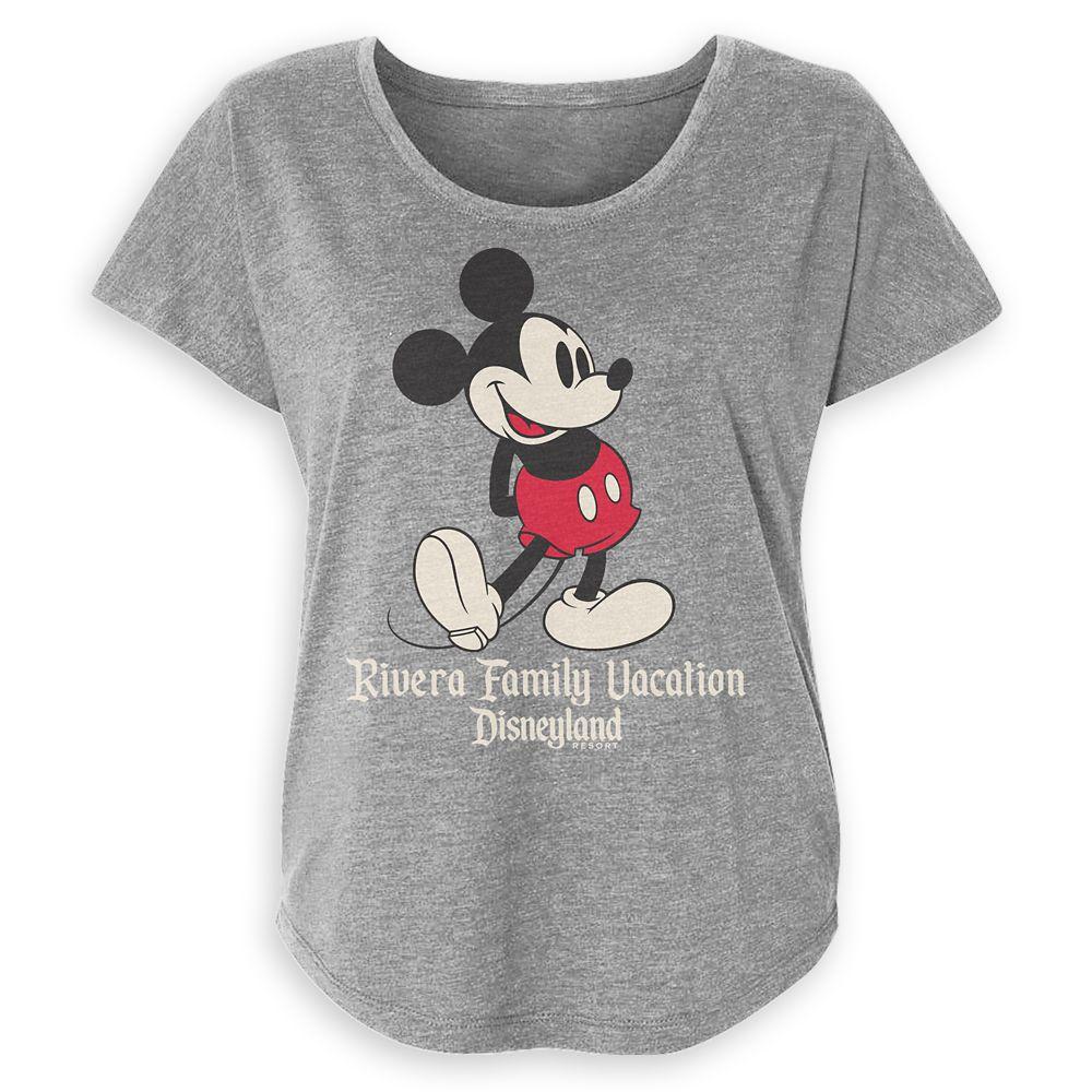 Women's Disneyland Mickey Mouse Family Vacation T-Shirt – Customized