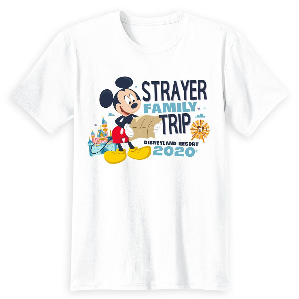 Adults' Disneyland Resort 2020 Mickey Mouse Family Trip T-Shirt – Customized