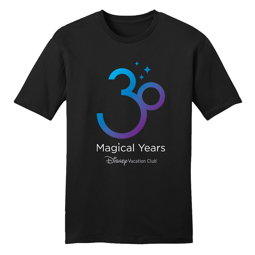 Disney Vacation Club 30th Anniversary T-Shirt for Adults