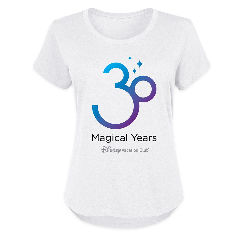 Disney Vacation Club 30th Anniversary T-Shirt for Women