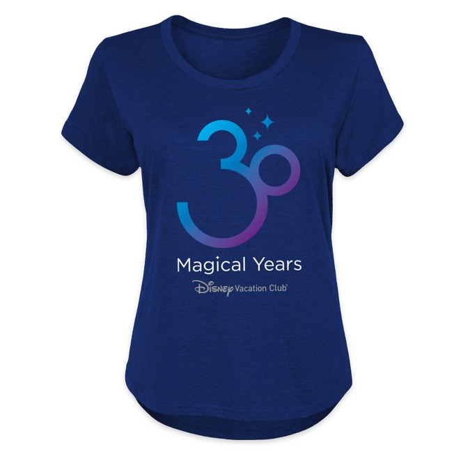 Disney Vacation Club 30th Anniversary T-Shirt for Women