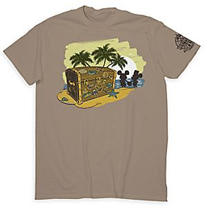 Mickey and Minnie Mouse Disney Vacation Club Tee for Adults - 25th Anniversary - Limited Release
