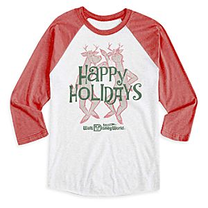 Silly Reindeer Raglan Tee for Adults - Walt Disney World - Limited Release