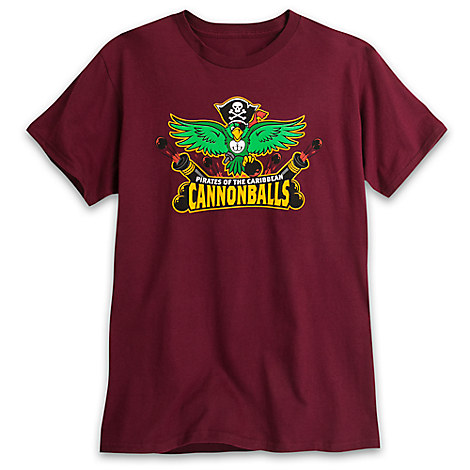 March Magic Tee for Adults - Pirates of the Caribbean Cannonballs - Limited Release