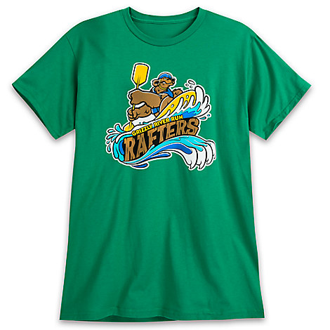 March Magic Tee for Adults - Grizzly River Run Rafters - Disneyland - Limited Release