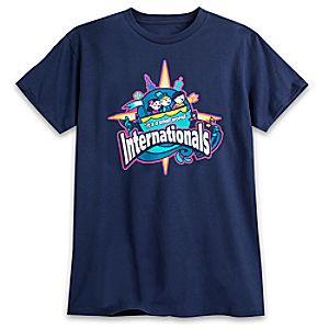 March Magic Tee for Adults - ''it's a small world'' Internationals - Limited Release