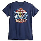 March Magic Tee for Adults - Main Street Barbershop Quartet - Limited Release