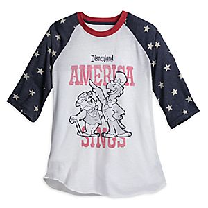 America Sings Baseball T-Shirt for Adults - Disneyland - Limited Release