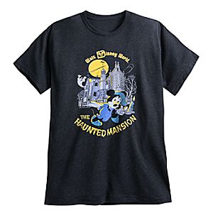 Mickey Mouse YesterEars Haunted Mansion T-Shirt for Adults - Walt Disney World - Limited Release