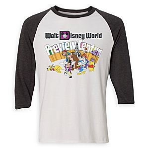 Walt Disney World Preview Center Raglan Tee for Adults - Limited Release