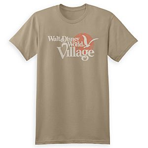 Walt Disney World Village Logo Tee for Adults - Limited Release