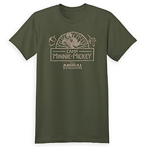 Camp Minnie-Mickey Tee for Adults - Walt Disney World - Limited Release