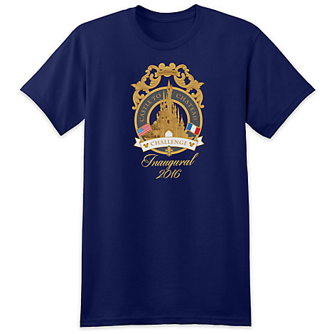 runDisney Castle to Chateau Challenge Tee for Adults - Disneyland Paris - Limited Release