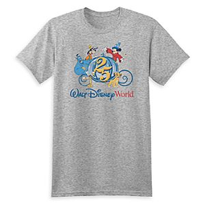 Walt Disney World ''25th Anniversary'' Tee for Adults - Limited Release