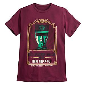 Hollywood Tower Hotel Final Check Out Tee for Men - Disney California Adventure - Limited Release