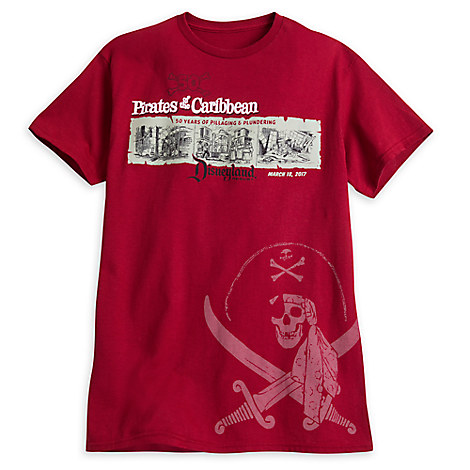 Pirates of the Caribbean for Adults - 50th Anniversary Disneyland - Limited Release