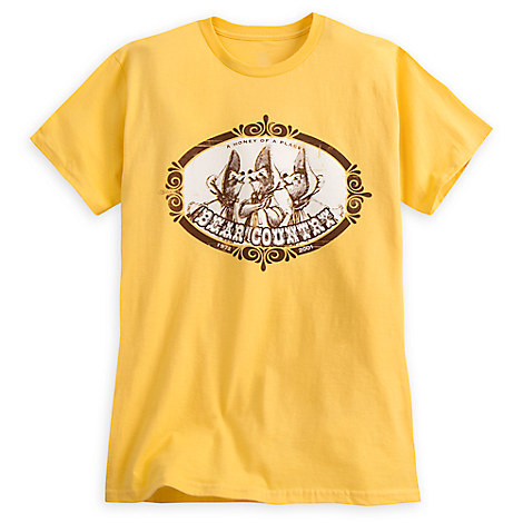 Bear Country Tee for Adults - 45th Anniversary Disneyland - Limited Release