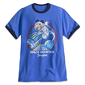 Space Mountain YesterEars Tee for Adults - Disneyland - Limited Release