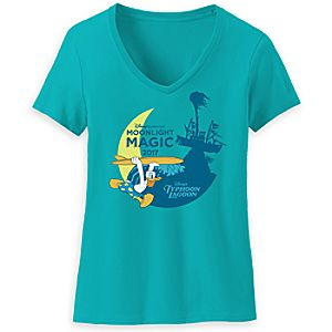 Typhoon Lagoon Moonlight Magic - Donald Duck Tee for Women - Limited Release