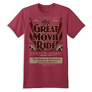 The Great Movie Ride Farewell Tee for Adults - Disney's Hollywood Studios - Limited Release
