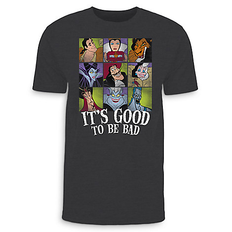 Disney Villains T-Shirt for Adults - Limited Release