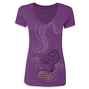 Ursula Disney Villains T-Shirt for Women - Limited Release