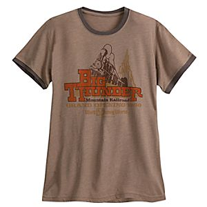 Big Thunder Mountain Railroad Tee for Men - Limited Release