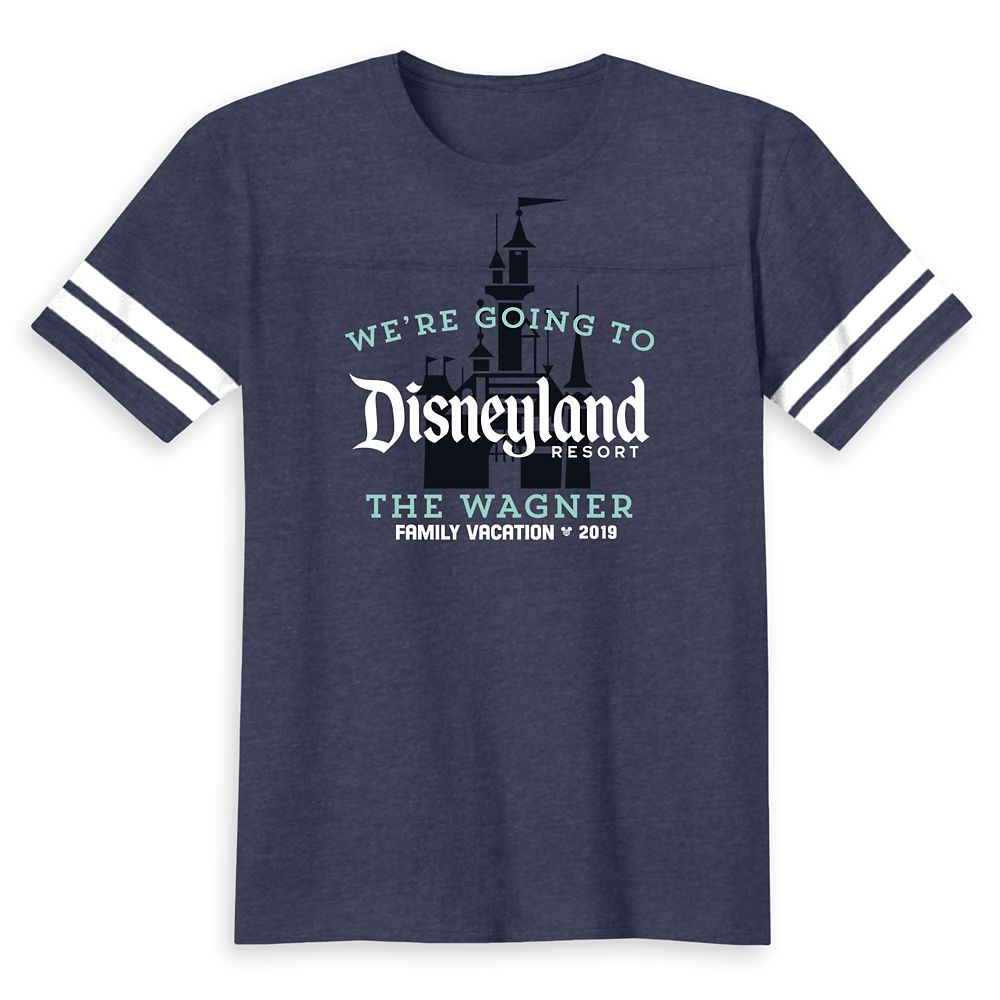 Disneyland 2019 Family Vacation T-Shirt for Kids – Customized