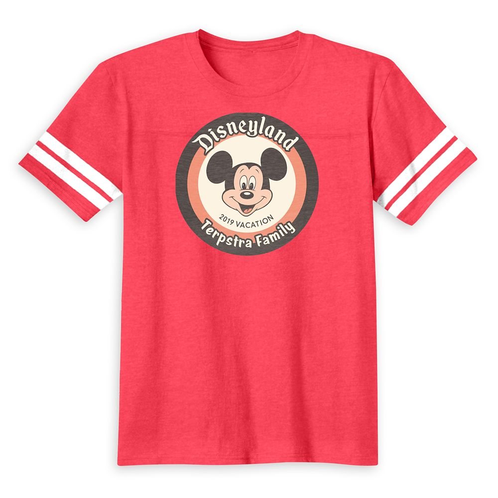 Mickey Mouse Family Vacation T-Shirt for Kids  Disneyland 2019  Customized