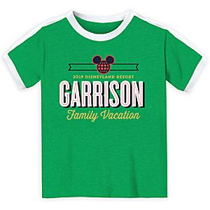 Mickey Mouse Family Vacation Soccer Shirt for