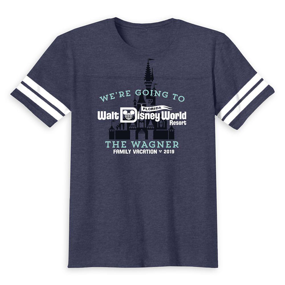 Walt Disney World 2019 Family Vacation T-Shirt for Kids  Customized
