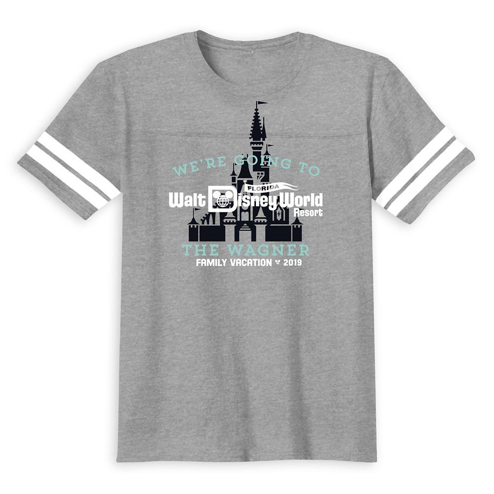 Walt Disney World 2019 Family Vacation T-Shirt for Kids – Customized