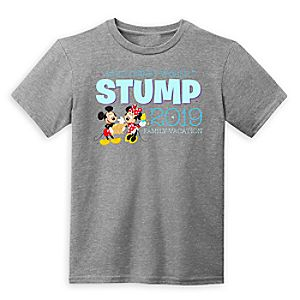 Mickey and Minnie Mouse Family Vacation T-Shirt