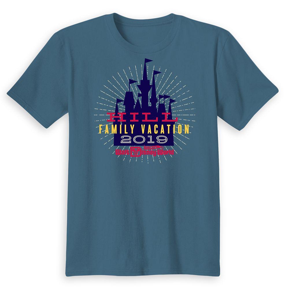 Kids' Cinderella Castle Family Vacation T-Shirt – Walt Disney World – 2019 – Customized