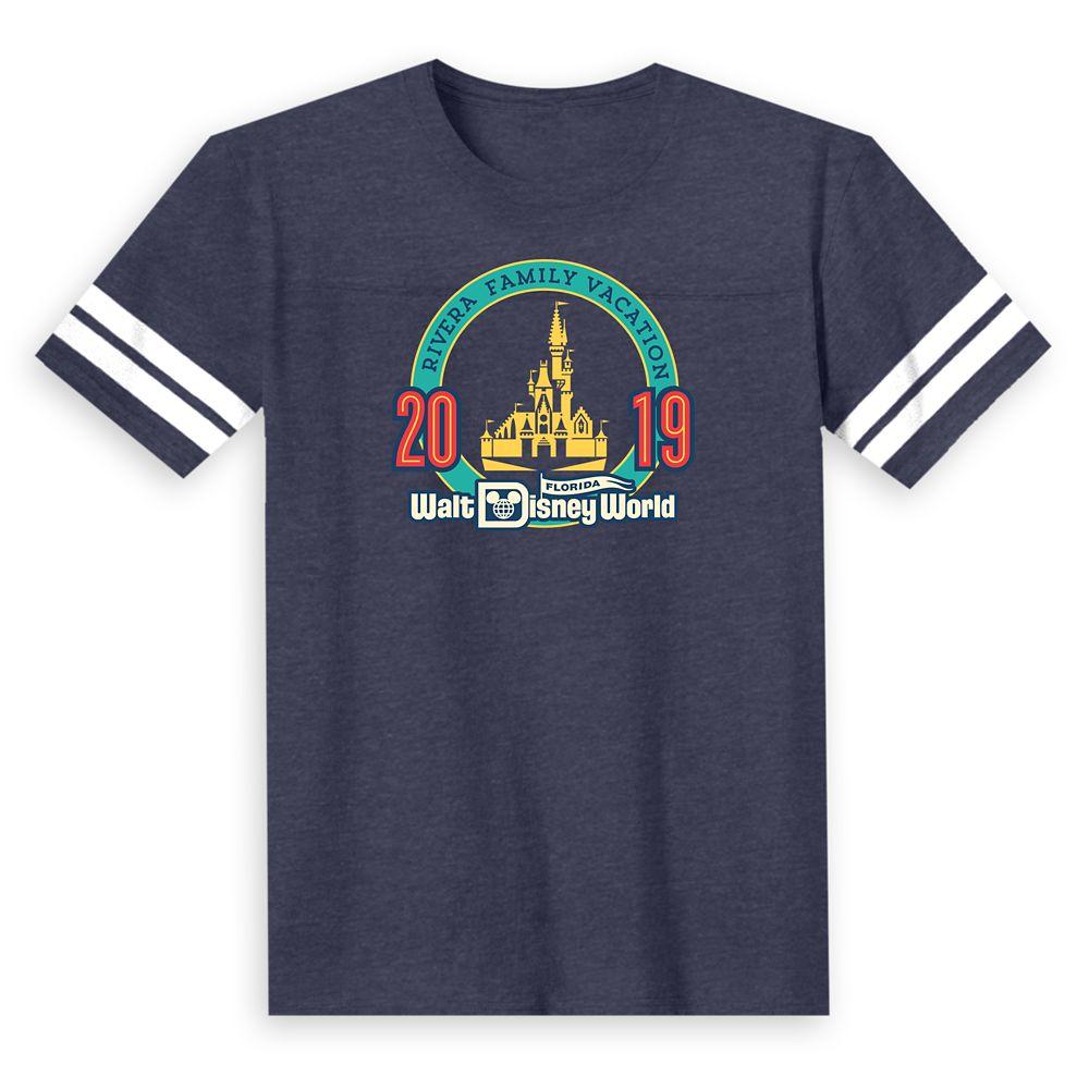 Kids' Walt Disney World 2019 Football T-Shirt – Customized