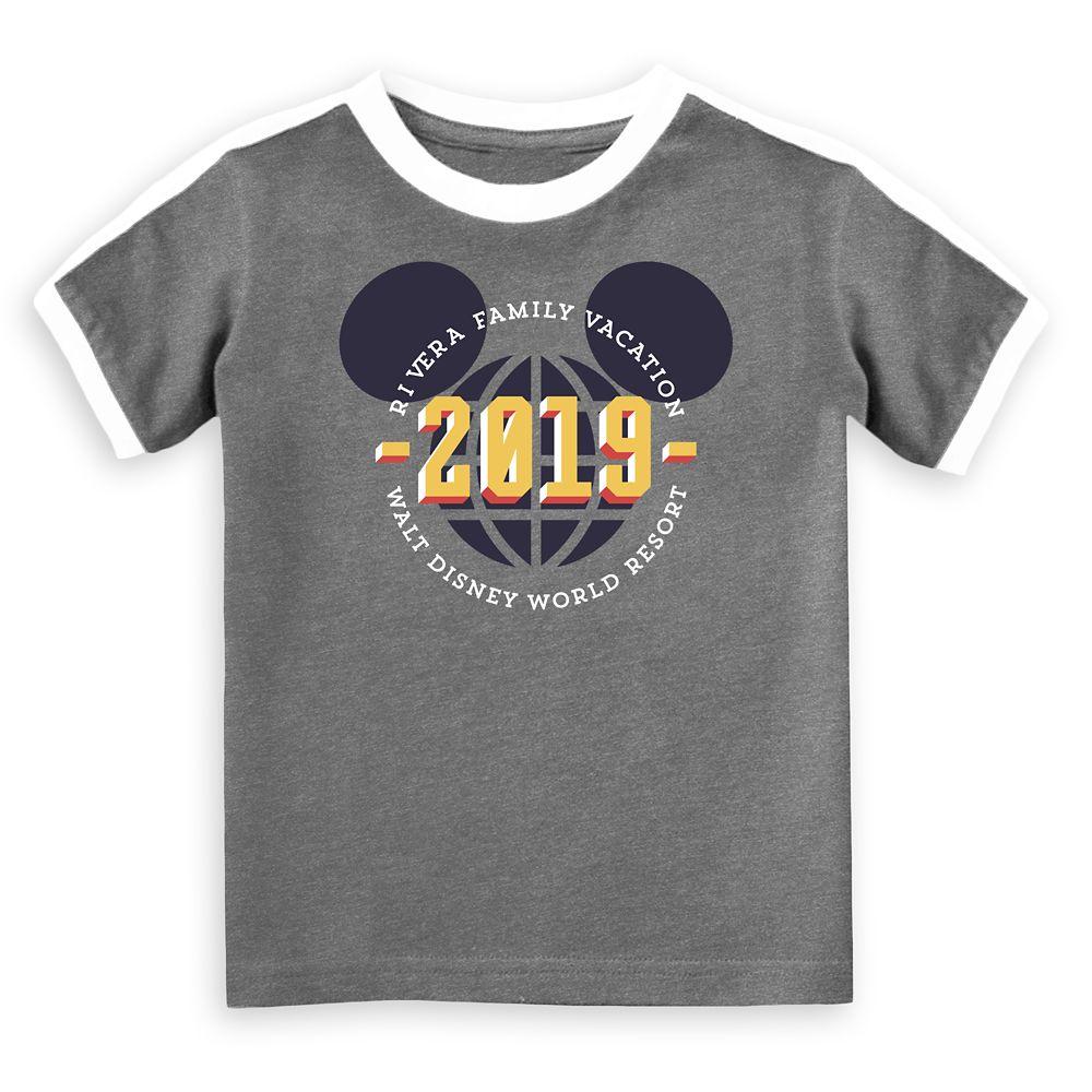 Kids' Walt Disney World 2019 Vacation Soccer T-Shirt  Customized