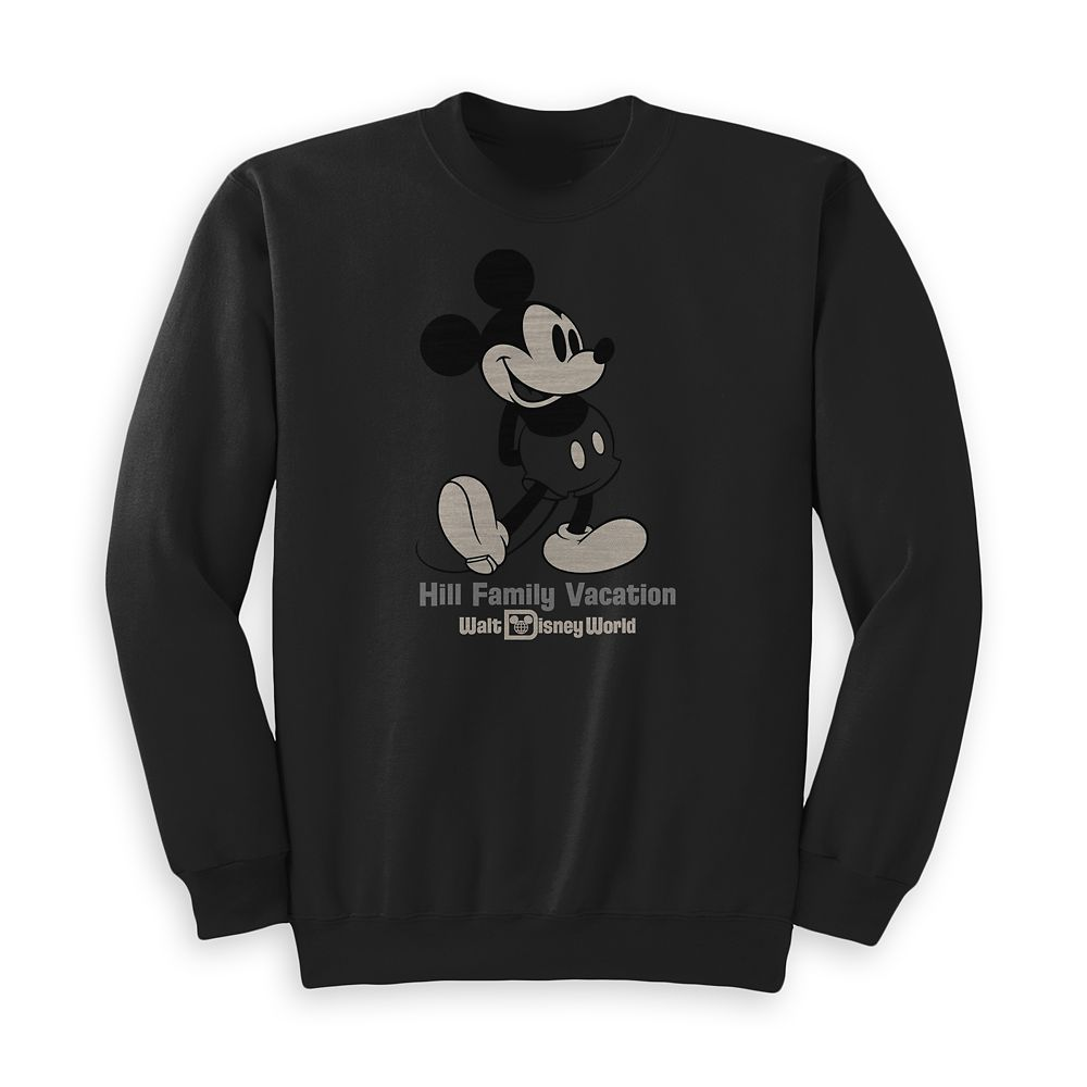 Kids' Mickey Mouse Family Vacation Pullover – Walt Disney World – Customized