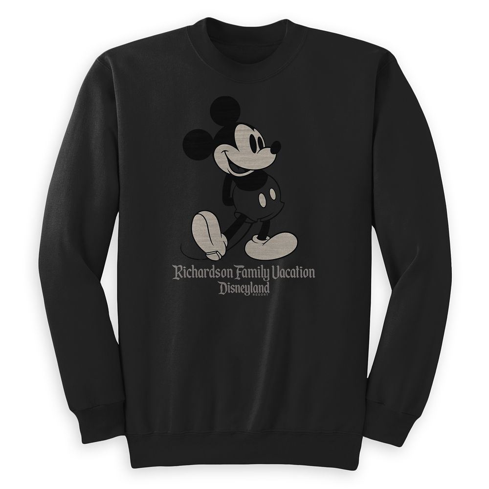 Kids' Mickey Mouse Family Vacation Pullover  Disneyland  Customized