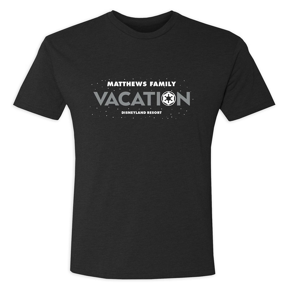 Youths' Star Wars Empire Family Vacation T-Shirt  Disneyland  Customized