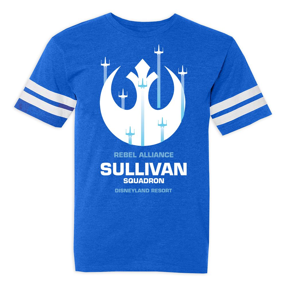 Youths' Star Wars Alliance Squadron Football T-Shirt – Disneyland – Customized